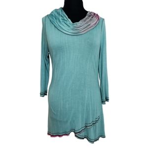 Parsley & Sage Cowl NeckTunic Medium